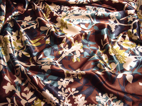 Floral Overlay fabric