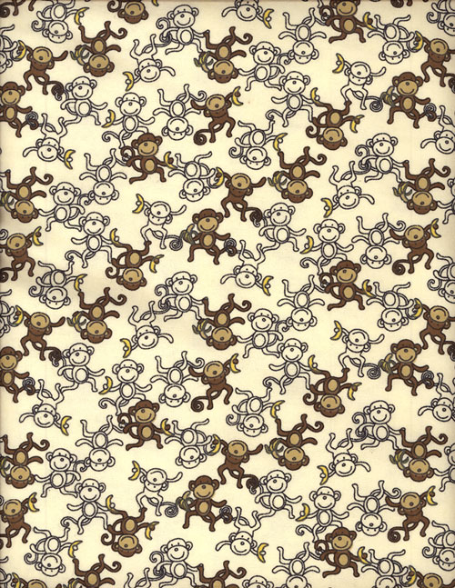 MONKEY CHAIN - FLANNEL cover/airbed set-browns, neutrals, monkeys, monkies, beige, flannel, cotton, natural fiber, pet bed, dog bed, cat bed, pet air bed, orthopedic support, veterinarian recommended, machine washable, machine dry slipcovers, apparel fabric, easy change, sustainable, eco-friendly, dog, cat, claw and nail proof, vet recommended, environmentally responsible, pet bed, dog bed, cat bed, natural nest, nesting area, long lasting, never compresses, replacement slipcovers, handcrafted, made in Michigan, made in USA, snazztastic, fashion covers, home decor, style, ARNO, Animal Rescue New Orleans
