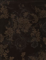 GOLD FLORAL CHOCOLATE - CORDUROY cover/airbed set
