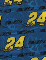 JEFF GORDON 24 - COTTON cover/airbed set