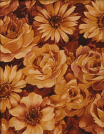BIG EARTHY FLORAL - COTTON cover/airbed set