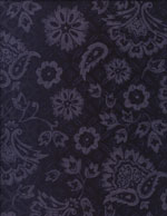BLUE VIOLET FLORAL - COTTON cover/airbed set