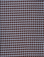 BLUE-BROWN HOUNDSTOOTH - COTTON cover/airbed set