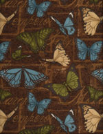 BUTTERFLY EMPEROR - FLANNEL cover/airbed set