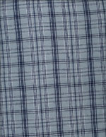 STEEL BLUE PLAID - FLANNEL cover/airbed set