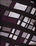 PLUM STAINED GLASS - SILKY cover/airbed set-plum, abstract, black, grey, modern, contemporary, silky, polyester, pet bed, dog bed, cat bed, pet air bed, orthopedic support, veterinarian recommended, machine washable, machine dry slipcovers, apparel fabric, easy change, sustainable, eco-friendly, dog, cat, claw and nail proof, vet recommended, environmentally responsible, pet bed, dog bed, cat bed, natural nest, nesting area, long lasting, never compresses, replacement slipcovers, handcrafted, made in Michigan, made in USA, snazztastic, fashion covers, home decor, style, ARNO, Animal Rescue New Orleans
